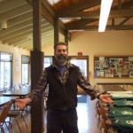 Mick welcomes you to the dining hall at Oral Hull Park