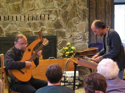 Paul Oorts and Steve Schneider, instructors' concert SFR '07