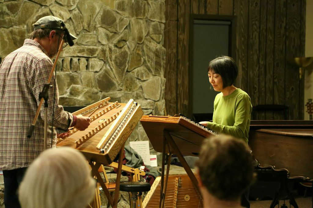 Mike Ingram & Leann Onishi play Bach at Open Mic